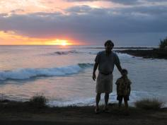 Father and Son at Sunset_0038